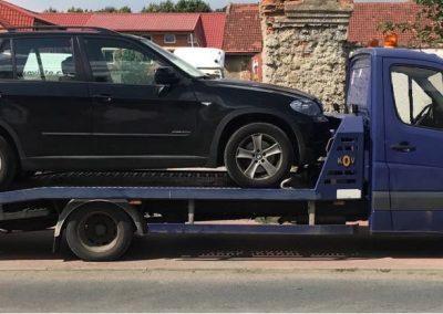 Odtah vozu BMW X5